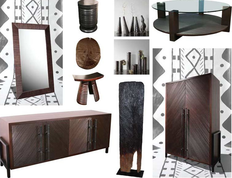 African Furniture Style
