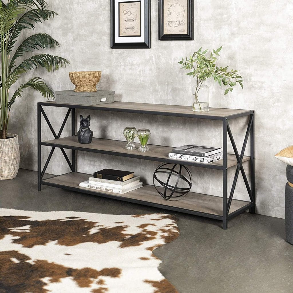 metal and wood trend