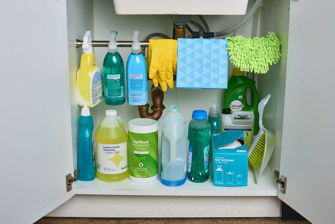 Organize-Cleaning-Supplies