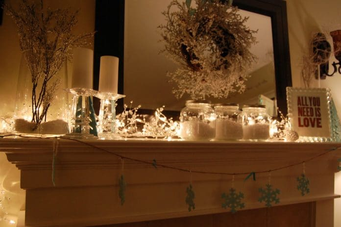 Decorate-a-Fireplace-for-Spring