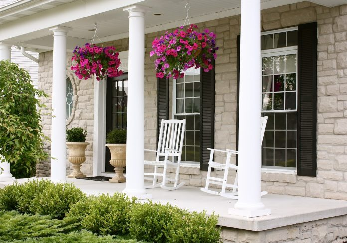 Front-Porch-Steps-with-Summer-Flowers